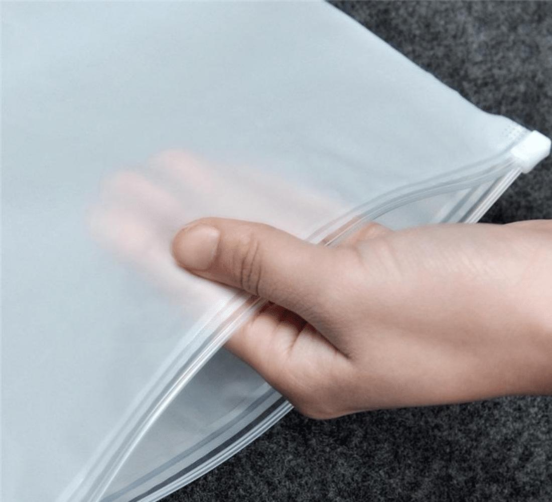 slider top zip lock bag material