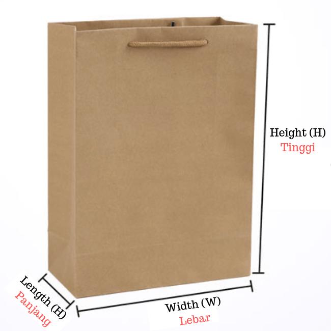 vertical craft paper bag 1