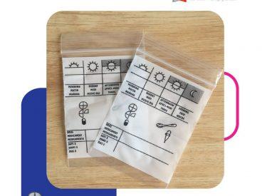 pharmacy zip lock bag 1