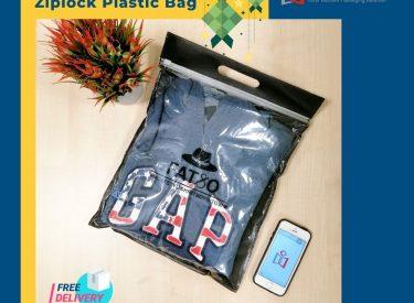slider top non woven bag sample