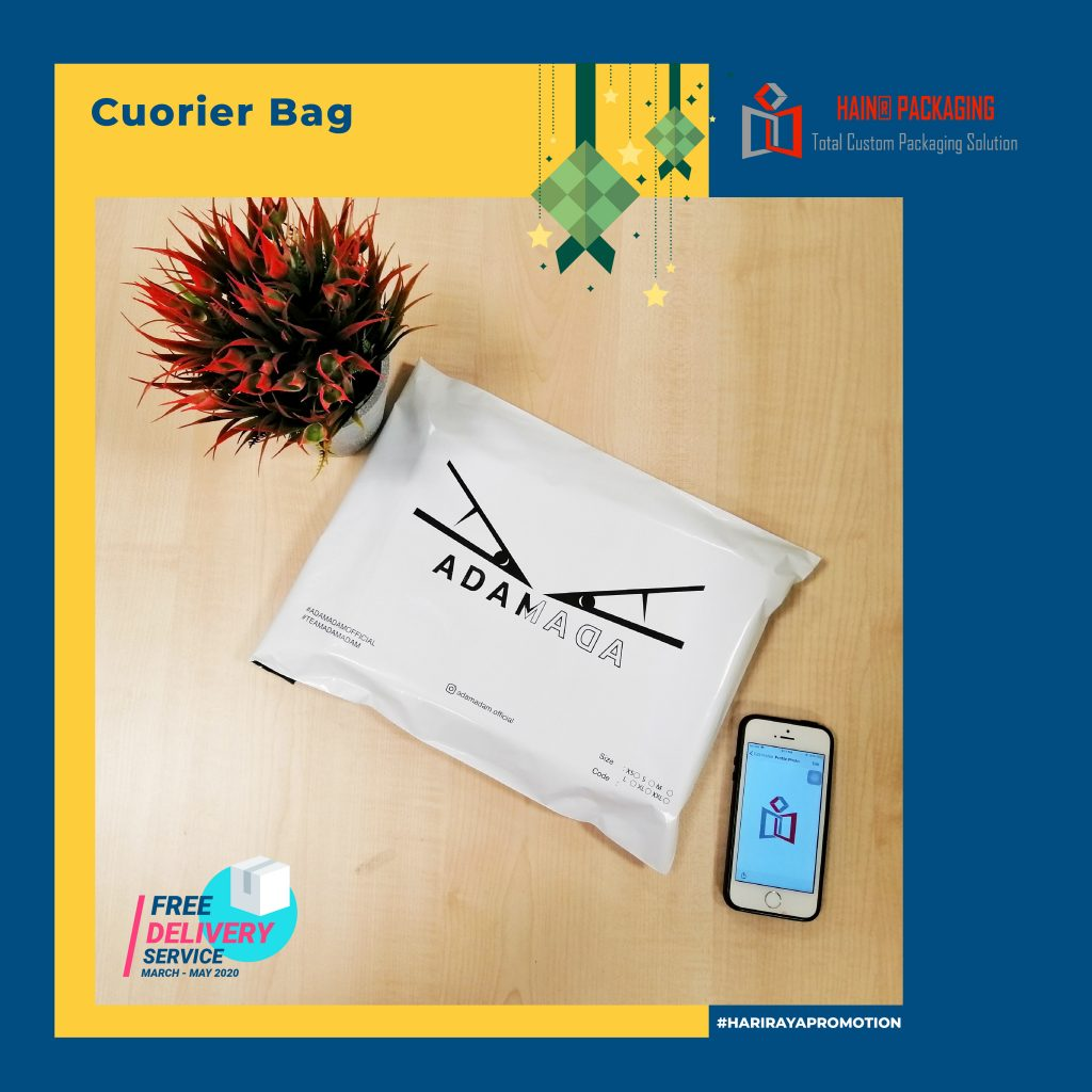 custom poly mailer bag