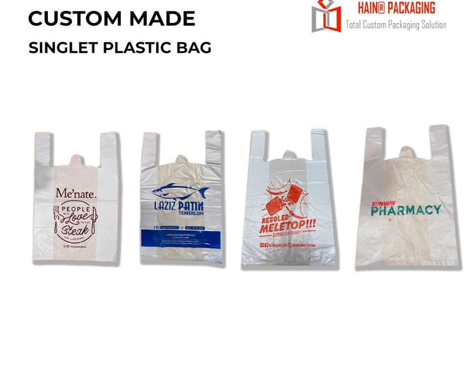Singlet Plastic Bag