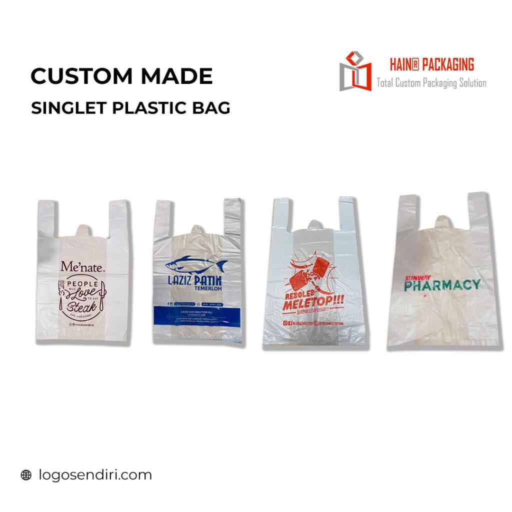 Singlet Plastic Bag  – Plastik Printing