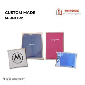 Slider Top Ziplock  – Zip Lock Bag Singapore