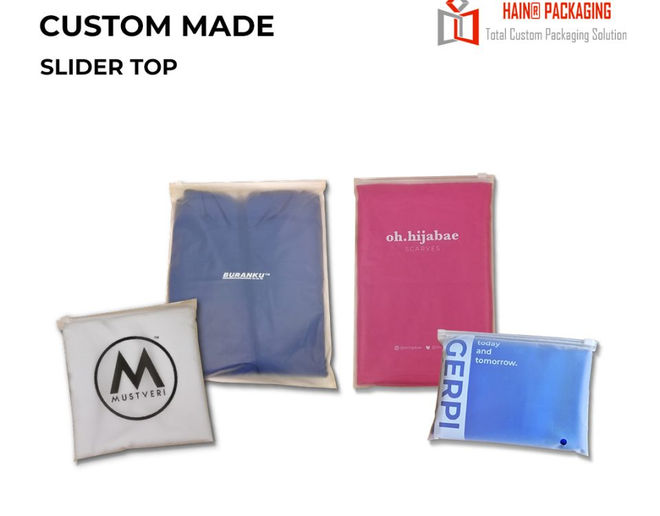 Slider Top Ziplock Bag