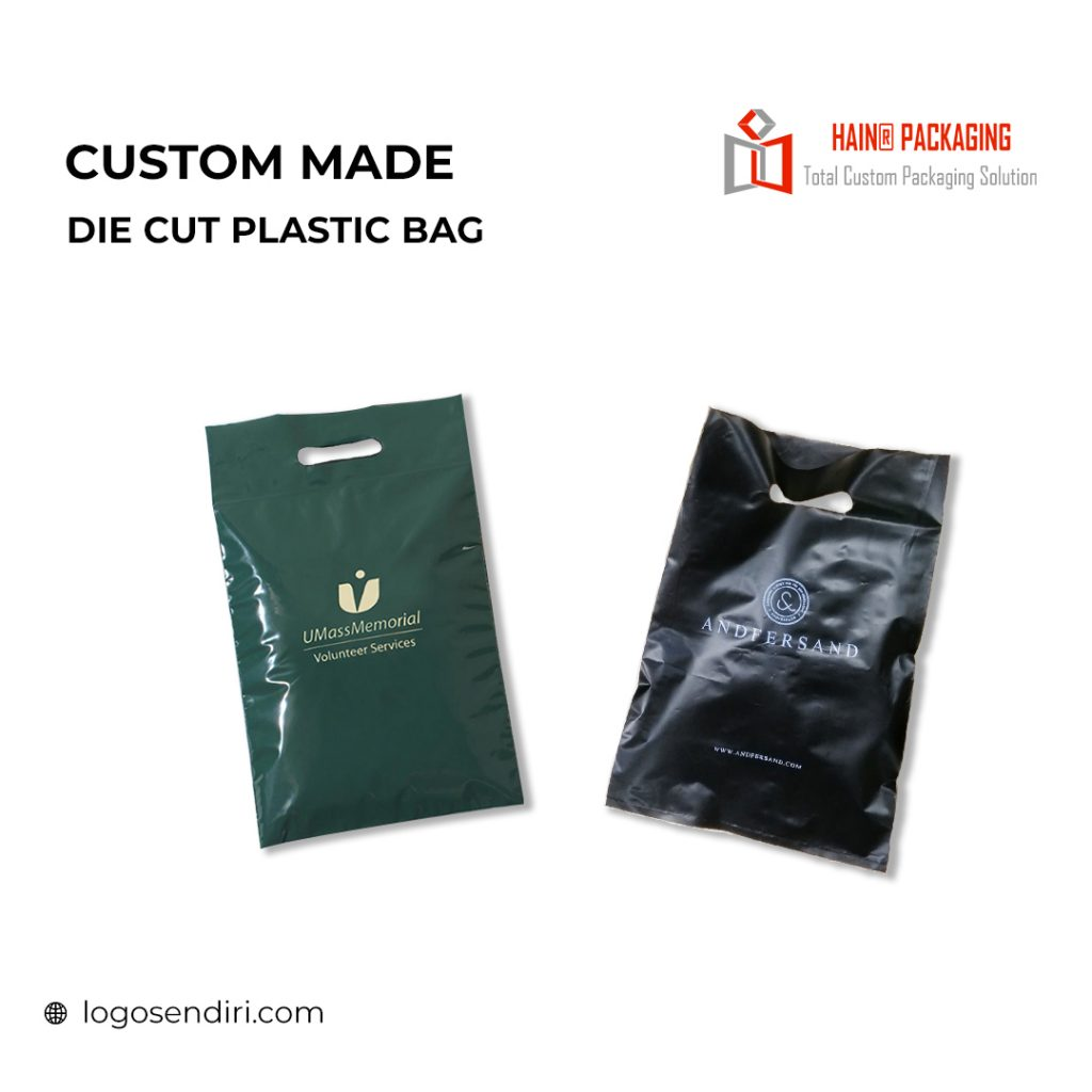 Die Cut Plastic Bag – Plastic Bag Singapore