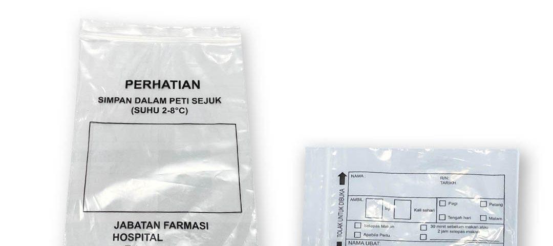 Pharmacy Plastic Bag