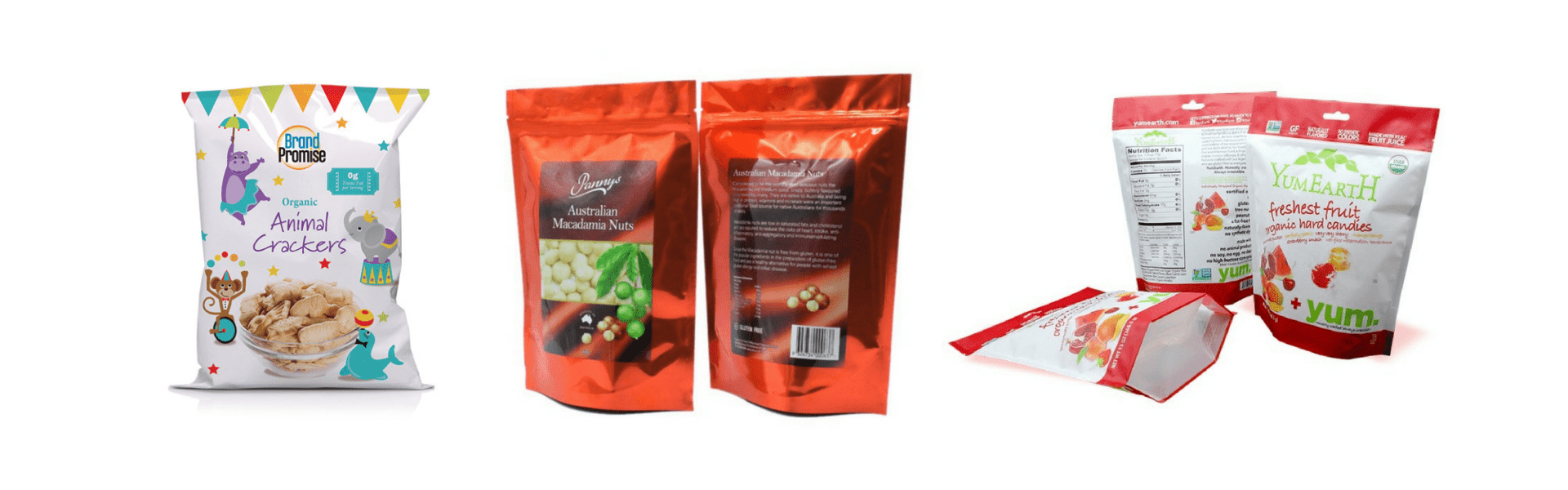 custom laminated food packaging